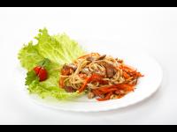 Лапша-удон с овощами